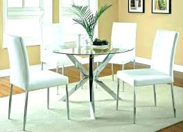 dining table 2018 trend small round glass and 2 chairs black folding furniture win