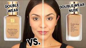 <b>Estee Lauder DOUBLE</b> WEAR NUDE Water Fresh Foundation VS ...