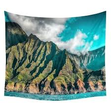 print your own tapestry coast wall tapestry beach towel polyester blanket yoga shawl world map print