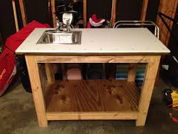 Ana White  Kreg Jig Work Bench With With A Twist Fish Cleaning Kreg Jig Bench Plans