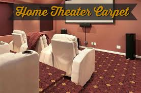 the best home theater carpet for looks sound