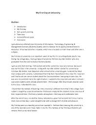 first day of college life essay descriptive essay my first day at college stephacubmaghilum
