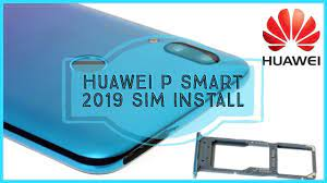 Huawei P Smart 2019 2020 How to insert the SIM card sd card - kako ubaciti  nano sim sd karticu - YouTube