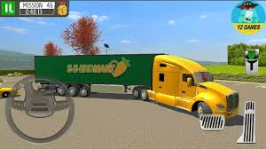 Delivery Truck Driver Simulator 2018 Android Gameplay Fhd 3 Youtube