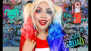 harley quinn squad makeup tutorial you