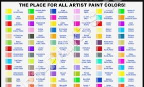 25 Prototypical Deco Art Americana Acrylic Paint Chart
