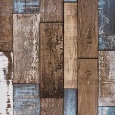 akea reclaimed wood wallpaper roll vintage faux wood plank