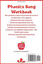 This video by lingokids offers the perfect way for your children to the learn alphabet and its phonics, they'll be able to identify each letter both by looking at them and through. Phonics Song Workbook Learn The 26 Letter Sounds Of The Alphabet Through Song Kenneth Martyn 9781658502351 Amazon Com Books