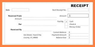 Money Receipt Format In Word Receipt Layout Cash Receipt Template 7