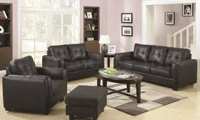 Leather Living Room Furniture Set Imposing Decoration Leather Living Room Set Clearance Interesting