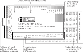 String Action Gauge Stewmac Com