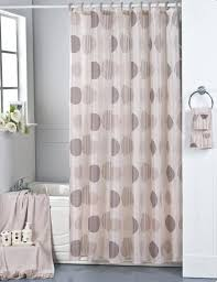 Brown Fabric Shower Curtain Park Avenue Brown Fabric Shower Curtain