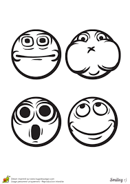 Coloriage Smiley Ou Motic Nes Page 1