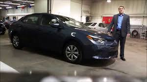 2015 Toyota Corolla LE CVT in Magnetic Grey walk-around and review ...