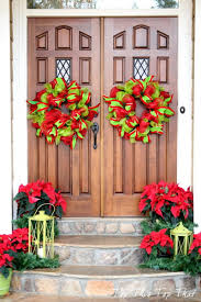 50 Best Christmas Door Decorations for 2017 ? | Christmas front ...