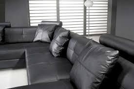 omega modern black leather sectional sofa omega modern black leather sectional sofa