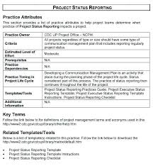 Communication Management Plan Template Excel 7 Weekly Status Report