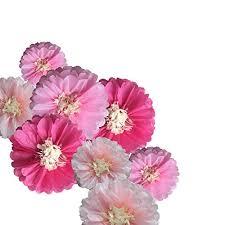 Tissue Paper Flower Decor Fonder Mols 9pcs Pink Paper Flowers Tissue Paper Chrysanth Flowers