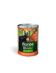 <b>MONGE</b> BWILD GRAIN FREE MINI ADULT DUCK 400g <b>MONGE</b> ...