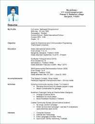 Resume For Teenager With No Work Experience Template Sample Resume For A Teenager With No Work Experience Londa 16