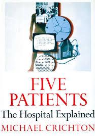 doctor com five patients by michael crichton