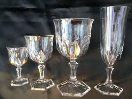 crystal champagne glasses waterford australia uk vintage baccarat