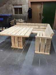 pallets garden furniture. pallet couch and table this simple project is great for a piece of outdoor furniture or indoor would like wider base pallets garden