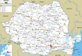 romania map tourist attractions  travelsfinderscom ®