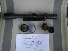 Leatherwood Hi Lux Art 6 24x50mm M 1200 Sniper Rifle Scope