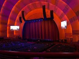 Radio City Music Hall Section 1st Mezzanine 1 Row Bb Seat