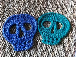 Skull Crochet Pattern Inspiration Day Of The Dead Skull Motif Kristinskrazyknits