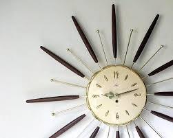 sunburst wall clock philogic co