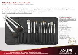 bkd14 platinum deluxe 14pc brush kit