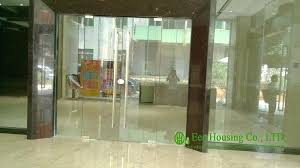 customized frameless glass door with 12mm tempered clear glass tempered glass door french door tempered glass