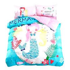 mermaid bedding set little comforter full duvet cover toddler mermaid bedding full little bed set