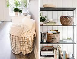 Otimize seu uso na sala de estar, cozinha, quarto e até no banheiro. Cestos Organizadores E Decorativos