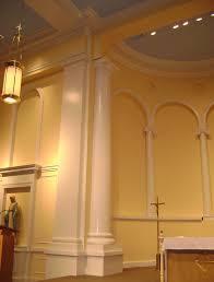 wood columns chadsworths st anns church charlotte nc idolza