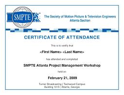 Sample Certificate Participation Conference New Certifi Ideas Sample