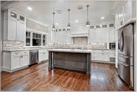White Kitchen Cabinets With Dark Floors Off White Kitchen Cabinets
