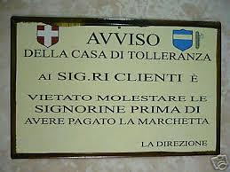 Risultati immagini per bordelli in italia