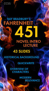 best images about fahrenheit lesson plans fahrenheit 451 introductory lecture slides for bradbury s sci fi novel ccss