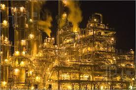 Resultado de imagen para refinery by night