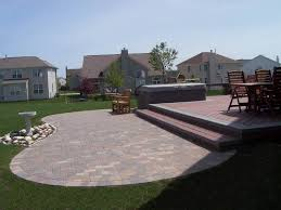 paver patio with deck. Contemporary Deck Paver Patio With Composite Deck And With V