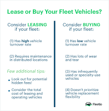 lease or buy calculation should you lease or buy your fleet vehicles fleetio