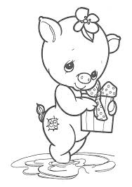 Small Picture Coloring Pages Of Precious Moments Animals Coloring Pages