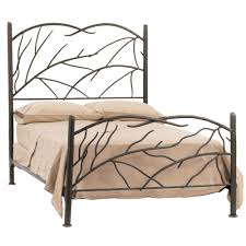 Bed Frame : Metal King No Box Spring Iron Size Wrought Frames Uk ...
