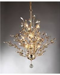 gold crystal chandelier 8 lights contemporary ceiling dennis futures intended for new home gold and crystal chandelier ideas