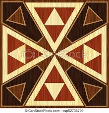 Wood Inlay Patterns Adorable Wooden Inlay Light And Dark Triangle Patterns Veneer Textured