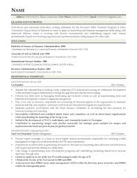 Executive Resume Cover Letter Sample Mba Resume Template Harvard Sample Executive Resume format It 26