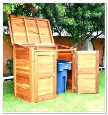 outdoor garbage bin storage outdoor garbage bin storage outdoor garbage can storage outdoor garbage can storage